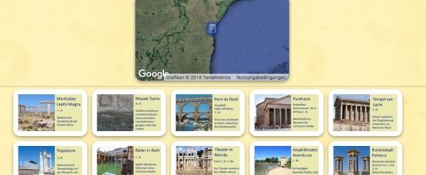 Quiz Römische Bauwerke