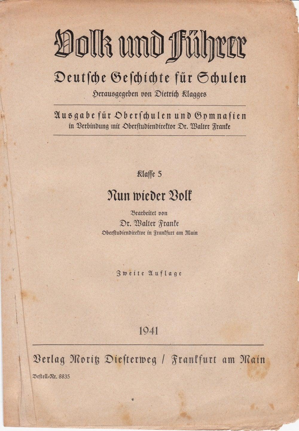Aus einem Geschichtsbuch | NS-Ideologie | Quellen – segu ...