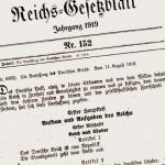 Weimarer Verfassung