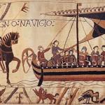 Mittelalter Bayeux Teppich