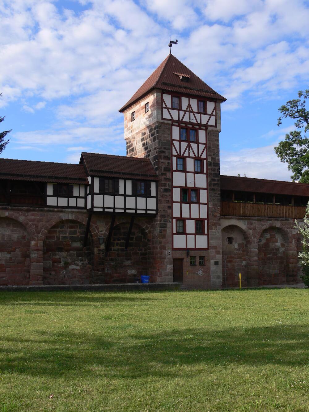 Stadt Mittelalter Turm