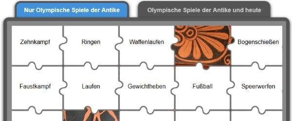 Quiz Olympische Spiele