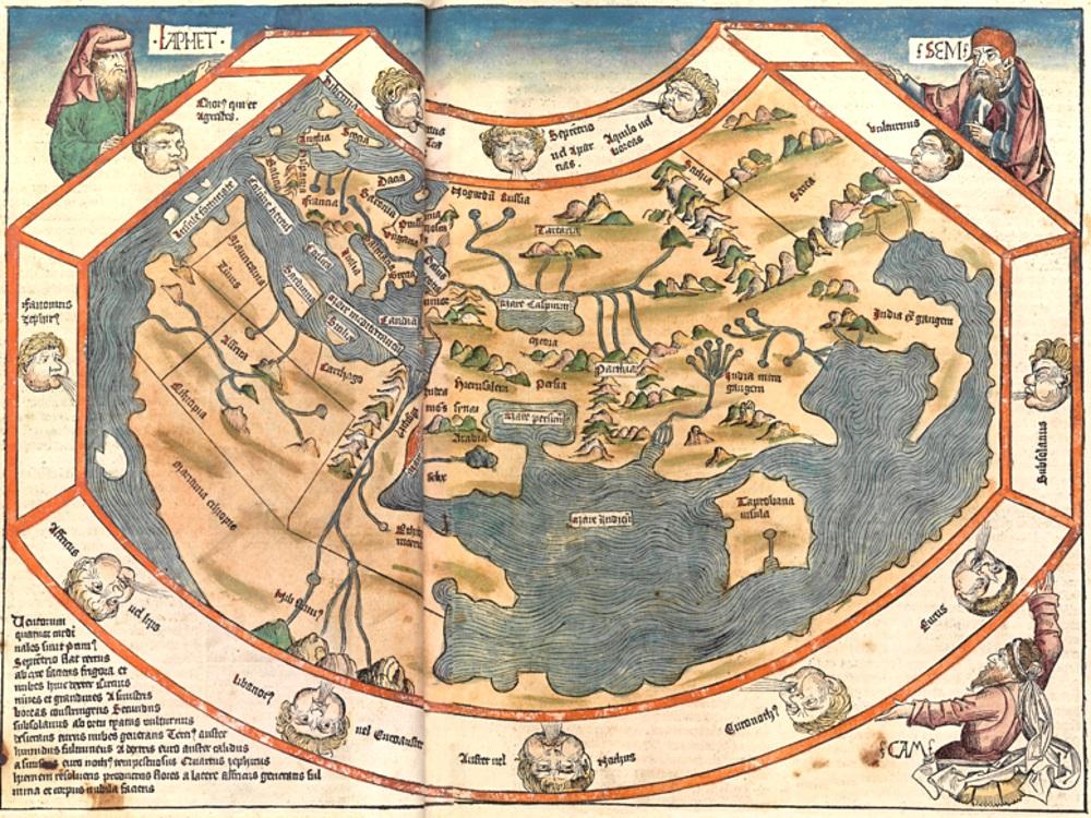 Weiße Flecken\' auf der Weltkarte | Entdeckungsfahrten | segu Geschichte