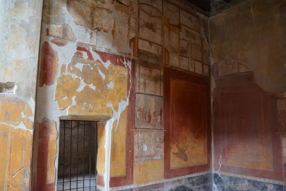 Foto 1 | Einige Häuser Pomejis Sind Auch Heute Noch Innen Vollständig Mit  Wandmalereien Verziert U2013 Wie Hier Das Haus Des Menandro | Bildnachweis ...